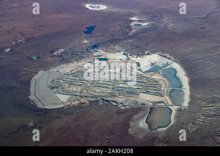 China , Inner Mongolia, Gobi desert - Stock Photo