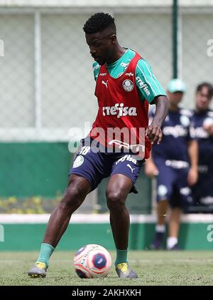 SÃO PAULO, SP - 09.01.2020: TREINO DO PALMEIRAS - Player Ramires of SE Palmeiras during training at the Football Academy. (Photo: Cesar Greco/Fotoarena) - Stock Photo