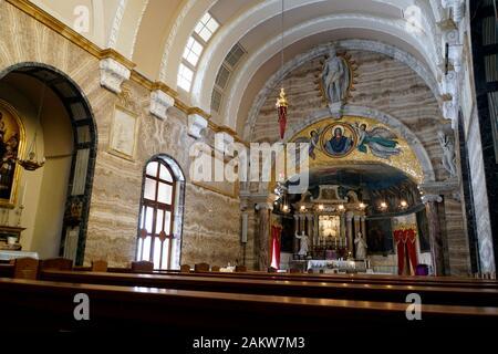 Heiligtum Unserer lieben Frau, Mellieha, Malta - Stock Photo