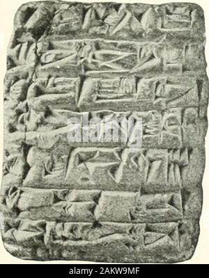 The Babylonian Expedition of the University of PennsylvaniaSeries A: Cuneiform texts . - Stock Photo