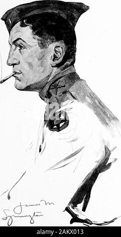 Soldiers all; portraits and sketches of the men of the AEF. . Stock Photo