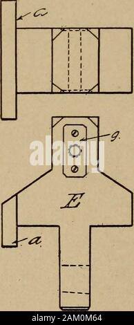 Handy man's workshop and laboratory . Fig. 32—Details of head-stock. i  1 j 1 1 ! a 0 Figr 33—The tail-stock HANDY MAN S WORKSHOP AND LABORATORY 31 - Stock Photo