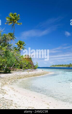 Lagoon at Tetamanu, Fakarava, Tuamotu Islands, French Polynesia