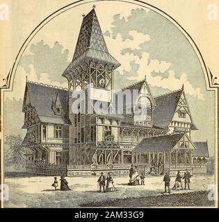 The stranger's pocket-guide to Philadelphia and the Centennial exhibition . MAP OF CENTENNIAL GROUNDS FAIRMOUNT PARK PHILADELPHIA.. NEW JERSEY. - Stock Photo