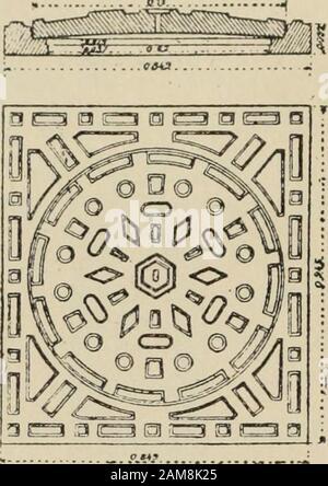 Traité d'hygiène . Fig. 193. — Échelon. ..^ 1 :I » Fig. 192. — Regard de visite. Fig. 194. — Crosse pour aider à la descente. 384 ED. IMBEAUX. — ÉVACUATION DES IMMONDICES LIQUIDES. la descente, elle csl le plus souvent sur le coté et aboutit à unechambre latérale : des échelons en fer (fig. 193) sont scellés dans uneparoi ou dans un angle de-la cheminée, et la crosse aide à descendreou à remonter (fig. 194). Lorifice du regard sur la chaussée ou sur le trottoir doit êtrenormalement obturé : cest à quoi servent les trappes ou tampons,soit en fonte pour les chaussées v - *»# (fig. 195), soit en - Stock Photo