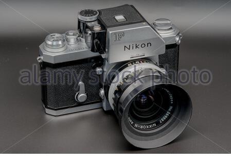 Nikon F HDR - Stock Photo