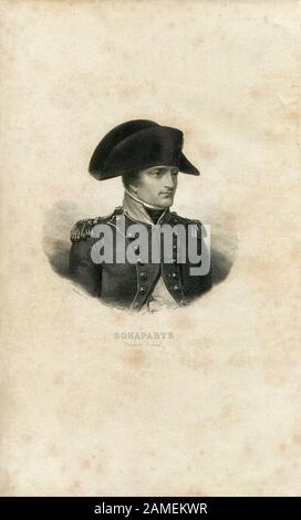 First Consul Napoleon Bonaparte - Stock Photo