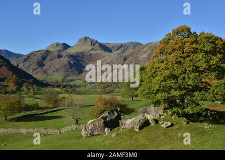 The Langdale Pikes and the Langdale Boulders, In the Lake Districkt National Park
