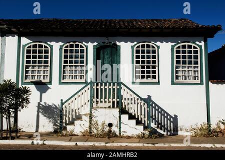House, Pirinópolis, Goiás, Brazil - Stock Photo