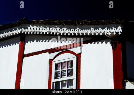Detail of Architecture, Pirinópolis, Goiás, Brazil - Stock Photo