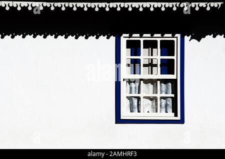 Windows, Pirinópolis, Goiás, Brazil - Stock Photo