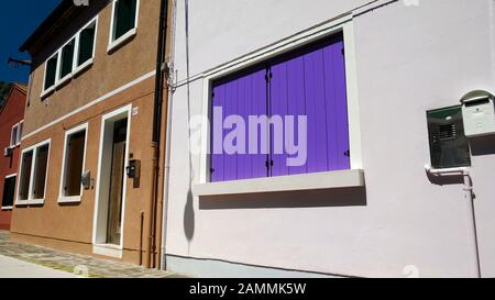 Nice apartment buildings prepared for rent or sale, residential architecture - Stock Photo