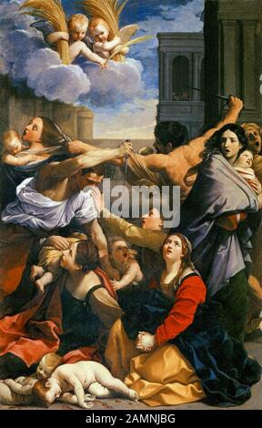 Guido Reni, The Massacre of the Innocents, painting, 1611 - Stock Photo