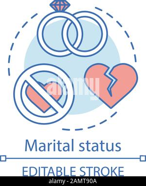 Marital Status Vector Icon Isolated On Transparent Background Marital Status Logo Concept Stock Vector Image Art Alamy