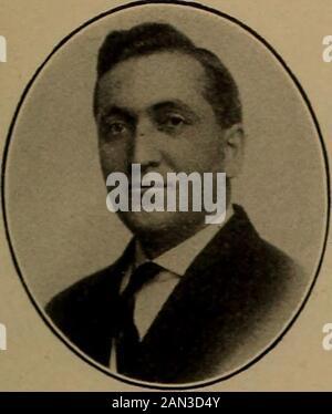 Norsk lutherske prester i Amerika, 1843-1913 . 1910. - Stock Photo
