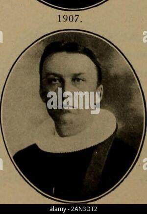 Norsk lutherske prester i Amerika, 1843-1913 . <^. - Stock Photo