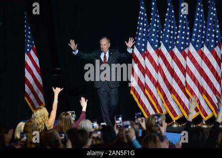 New York, NY, USA. 15th Jan, 2020. Mike Bloomberg in attendance for Women for Mike Bloomberg 2020 Kickoff Event, Sheraton New York, New York, NY January 15, 2020. Credit: Kristin Callahan/Everett Collection/Alamy Live News - Stock Photo