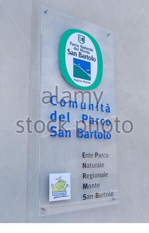 monte san bartolo park, fiorenzuola di focara, marche, italy - Stock Photo