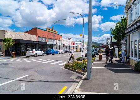 Leigh Buildings, Woodville town centre, Tararua District , North Island New Zealand - Stock Photo