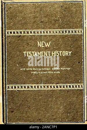 Gospel Messenger, The (1909) . Enables the student toobtain a clear knowledgeof the history of the NewTestament, both in gen-eral and in detail. Boundin cloth.Price, postpaid, 50 cents OLD TESTAMENT HISTORY.By E. S. Young. An excellent aid to thestudy of the Old Testa-ment, a good understand-ing of which will prepareone for a better under-standing and a clearerconception of the NewTestament. Cloth-bound.Illustrated.Price, postpaid, 50 cents BIBLE GEOGRAPHY. By E. S. Young. Designed to stimulatean interest in Bible study.It is divided into twoparts—Old and New Tes-tament Geography—andcontains a - Stock Photo
