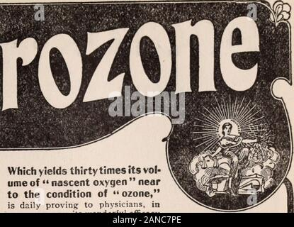 Critique . Which yields thirty times its vol-ume of nascent oxygen nearto the condition of ozone, is daily proving to physicians, insome new way, its wonderful efficacyin stubborn cases of Eczema, Psoriasis, Salt Rheam, Itch,Barbers Itch, Erysipelas, Ivy Poisoning, Ringworm,Herpes Zoster or Zona, etc. Acne, Pimples on Faceare cleared up and the pores healed by HYDROZONE and GLYCOZONEin a way that ismagical. Try this treatment; resultswill please you. Full method of treat-ment in my book, The TherapeuticalApplications of Hy-drozone and Glyco-zone ; SeventeenthEdition, 332 pages.Sent free to phy