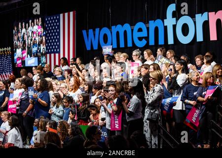 New York, United States. 15th Jan, 2020. Attendees at the Women for Mike on January 15, 2020 in New York City, New York. Credit: The Photo Access/Alamy Live News - Stock Photo