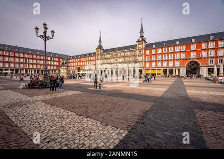 Madrid, Spain - Plaza Mayor city square