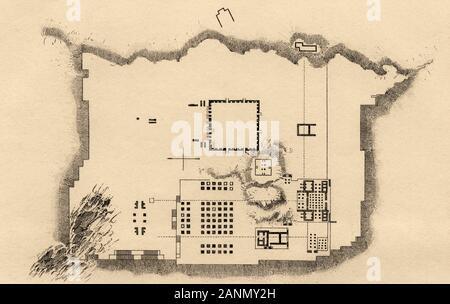 Map Of The Achaemenid Empire Stock Photo Alamy