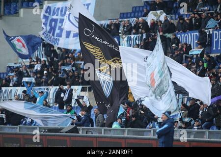 Rome, Italy. 18th Jan, 2020. Rome, Italy - 18 January, 2020: in action during the Italian Serie A soccer match SS Lazio vs Sampdoria 5-1, at Olympic Stadium in Rome on 18/01/2020 Credit: Independent Photo Agency/Alamy Live News - Stock Photo
