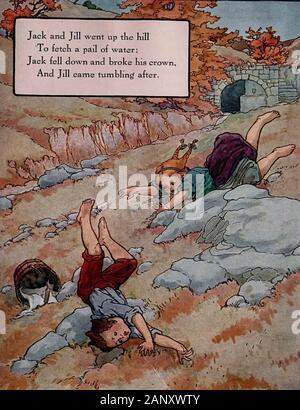 Jack And Jill Illustration
