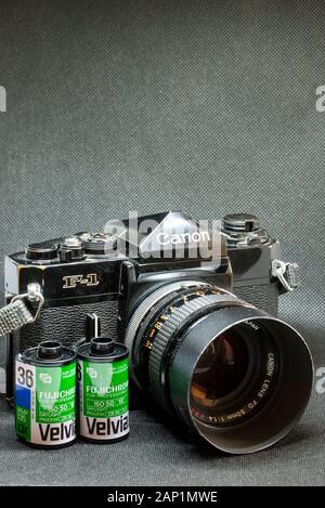 Canon F1 35MM Film Camera.