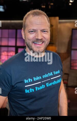 Mario Barth bei der Aufzeichnung der WDR-Talkshow 'Kölner Treff' im WDR Studio BS 2. Köln, 12.11.2019 - Stock Photo