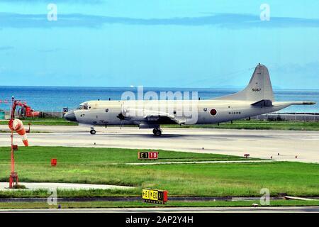 JSDF, Kawazaki P3 Maritime Surveilance and Rescue, 5067, Naha AFB, Okinawa, Japan