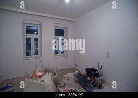 Sanierung einer Altbauwohnung - Renovation of an old flat