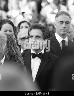 Ben Stiller attends The Meyerowitz Stories screening during the 70th annual Cannes Film Festival at Palais des Festivals on May 21, 2017 in Cannes, France. - Stock Photo