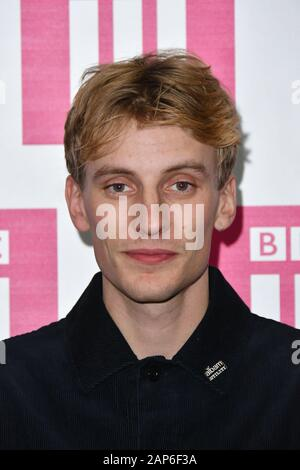 London, UK. 21st Jan, 2020. Charlie Cooper attends preview screening of This Country their award winning BBC Three mockumentary about cousins living in rural Oxfordshire London, UK - 21 January 2020 Credit: Nils Jorgensen/Alamy Live News - Stock Photo