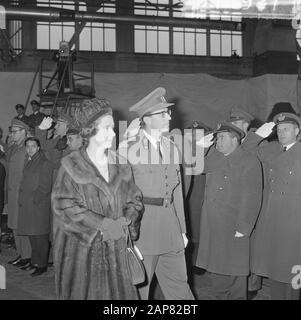 Belgian paras back, King Baudouin and Queen Fabiola Date: December 1, 1964 Personal name: Boudewijn, King of Belgium, Fabiola Queen