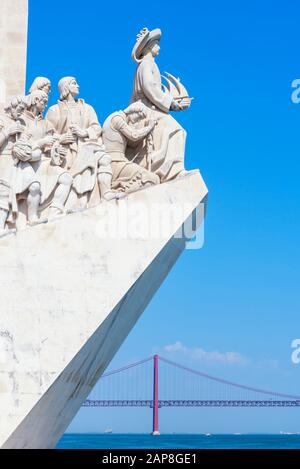 Monument of the Discoveries, Belem, Lisbon, Portugal, Europe