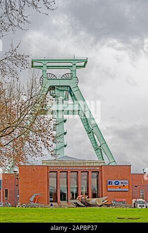 Deutsche Bergbau-Museum Bochum (DBM);  German Mining Museum in Bochum, greatest mining museum of the world - Stock Photo