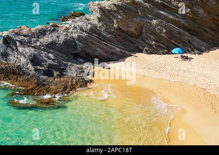 Bath Beach near Porto Covo, Vicentine Coast Natural Park, Portugal