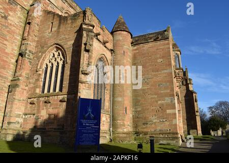 St Michael's church Linlithgow - Stock Photo