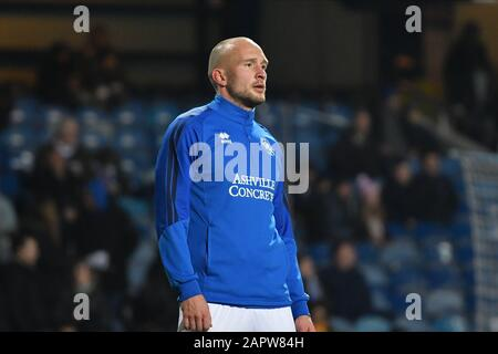 London, UK. 24th Jan 2020. Toni Leistner of QPR during the FA Cup 4th Round match between Queens Park Rangers and Sheffield Wednesday at Kiyan Prince Foundation Stadium, London on Friday 24th January 2020. (Credit: Ivan Yordanov | MI News)Photograph may only be used for newspaper and/or magazine editorial purposes, license required for commercial use Credit: MI News & Sport /Alamy Live News - Stock Photo
