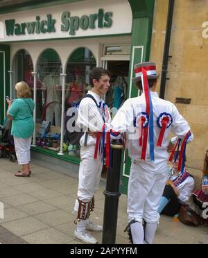 folk festival warwick england uk - Stock Photo