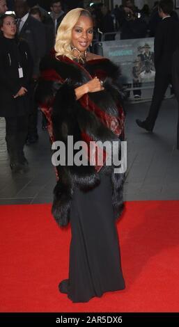 Oct 05, 2017 - London, England, UK - 61st BFI London Film Festival - 'Mudbound' European Premiere, Odeon Leicester Square - Red Carpet Arrivals Photo - Stock Photo
