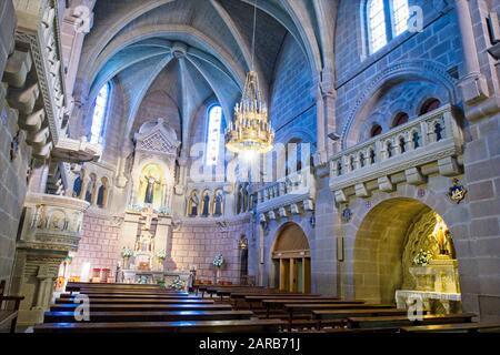 Basilica in a Castle. - Stock Photo