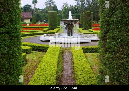 Taman Bunga Nusantara, Cipanas, Bogor, West Java, Indonesia - Stock Photo