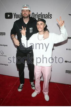 Los Angeles, Ca, USA. 27th Jan 2020. Los Angeles premiere of YouTube Originals' 'Justin Bieber: Seasons' at the Regency Bruin Theatre  Where: Los Angeles When: 27 Jan 2020 Credit: Faye's Vision/Cover Images - Stock Photo