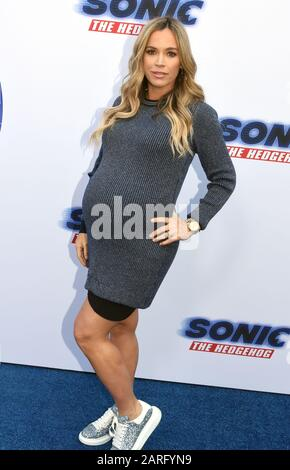 Los Angeles, California, USA 25th January 2020 Reality Television personality Teddi Jo Mellencamp attends Paramount Pictures 'Sonic The Hedgehog' Family Day Event on January 25, 2020 at Paramount Studios in Los Angeles, California, USA. Photo by Barry King/Alamy Stock Photo - Stock Photo