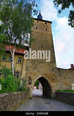 Iphofen is a city in Bavaria with many historical sights. Mittagsturm