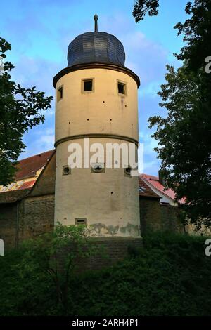 Iphofen is a city in Bavaria with many historical sights. Bürgerturm